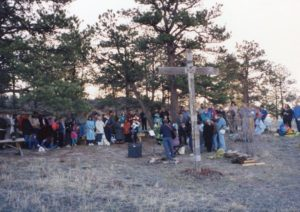 Easter Sunrise service 1994